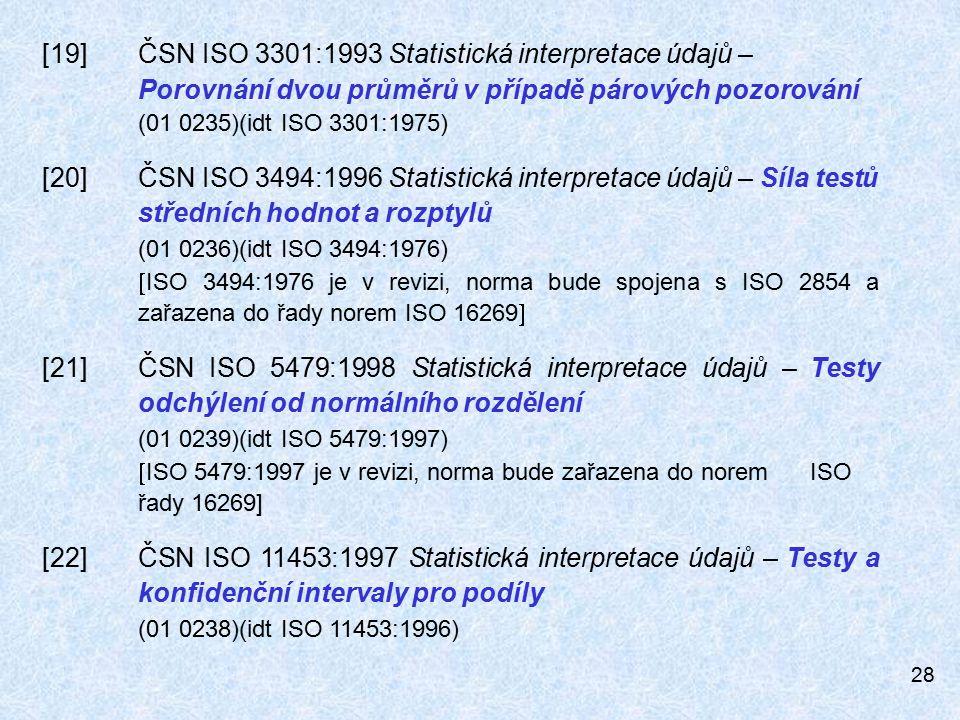 [19]. ČSN ISO 3301:1993 Statistická interpretace údajů –
